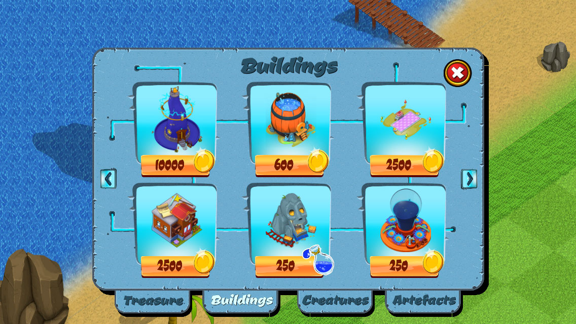 Add buildings easily to the game