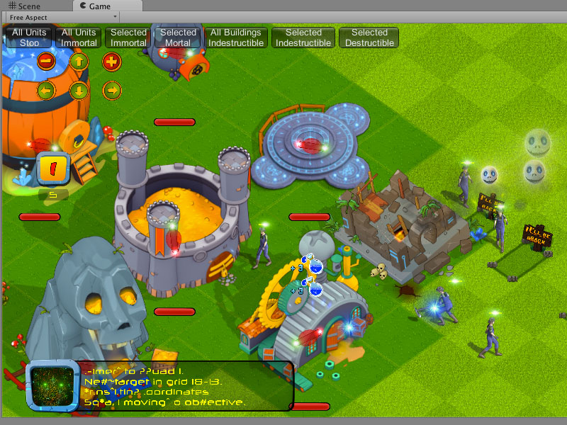 Strategy game battle multiplayer